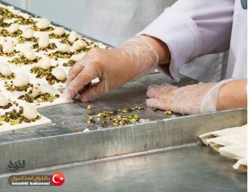 کارگاه پخت باقلوا